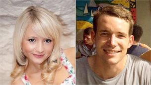 Hannah Witheridge and David Miller