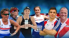 Emma Wiggs, Lesley Baldwin, Alice Tai, Maria Lyle, Jono Drane and David Phillips