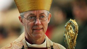 File photo dated 20/04/14 of the Archbishop of Canterbury Justin Welby