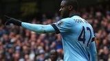 Manchester City's Yaya Toure