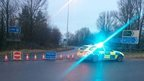 A1(M) closed following crash 26 December 2014