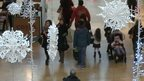 Shoppers at St David's Centre in Cardiff on Boxing Day 2014