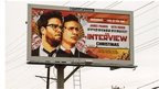 Billboard advertising The Interview