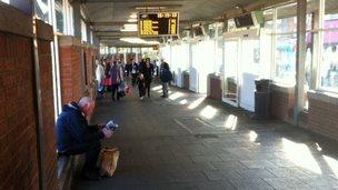 Peterlee bus station