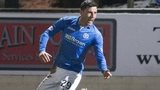 Michael O'Halloran headed St Johnstone level.