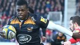 Christian Wade breaks for Wasps