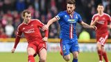 Niall McGinn and Graeme Shinnie