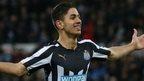 Newcastle striker Ayoze Perez