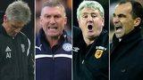 Alan Irvine, Nigel Pearson, Steve Bruce and Roberto Martinez