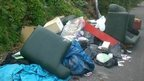 Fly-tipping in Cardiff