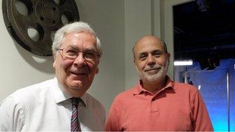 Mervyn King and Ben Bernanke