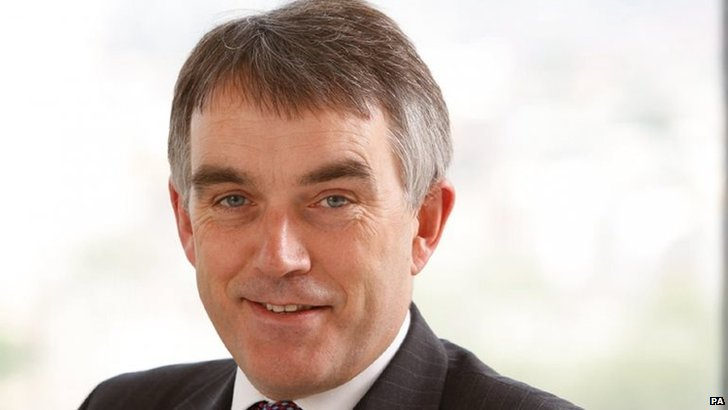 Network Rail boss Robin Gisby