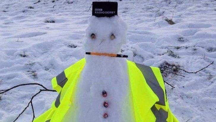 Tissington snowman
