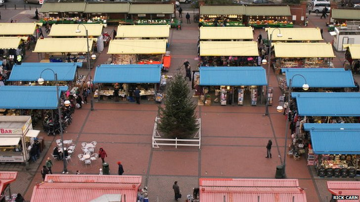 Kirkgate outdoor market