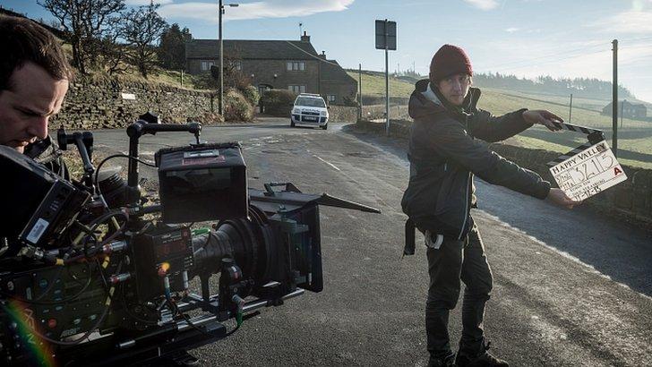 Happy Valley film crew