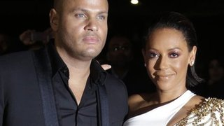 BBC - Newsbeat - Mel B: Hubby wouldn't lay a hand on me