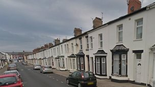 Rydal Avenue in Blackpool