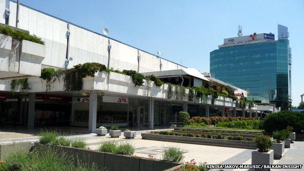 The GTC shopping centre