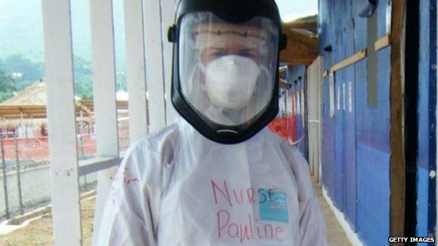 Pauline Cafferkey London nurse with Ebola Virus