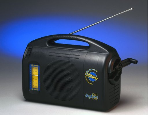 Baygen wind-up radio