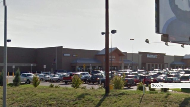 The Walmart store