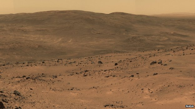 Image from Mars rover Opportunity