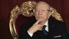 Tunisian President Beji Caid Essebsi (31 December 2014)