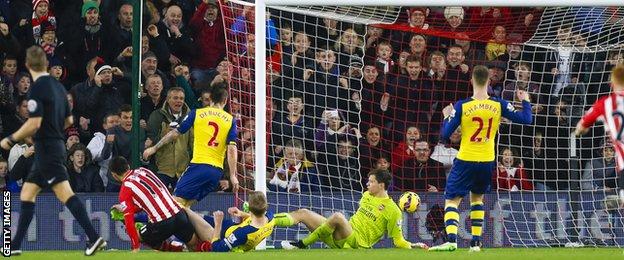 Southampton score