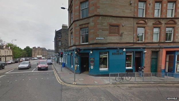 Bbc news man glassed in face in edinburgh bar attack for 12 regent terrace edinburgh