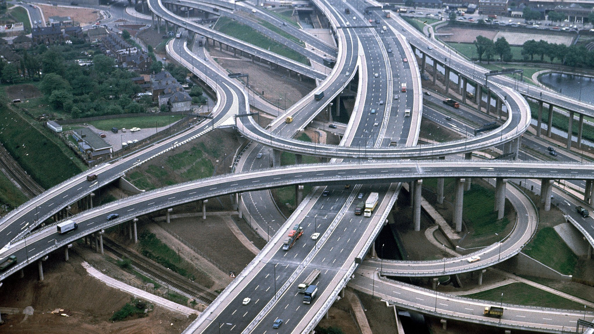 Spaghetti Junction Maintenance Work Means Months Of Delays