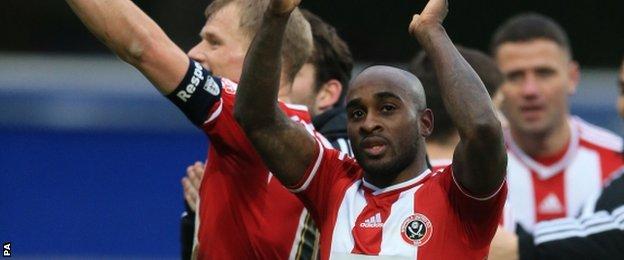 Sheffield United's Jamal Campbell-Ryce