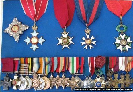 De Wiart's medals