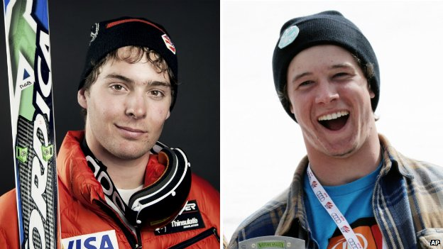 Ronnie Berlack and Bryce Astle from the US Ski Team