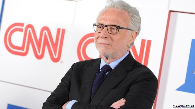 CNN presenter Wolf Blitzer.