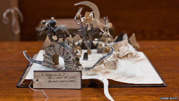 Sculpture based on Tam O'Shanter