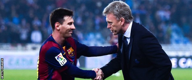 Lionel Messi: Barcelona president says striker is 'happy and will stay'