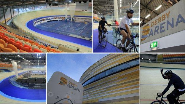 Derby Arena composite