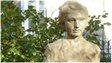 A statue of Noor Inayat Khan