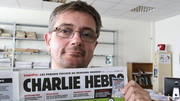 Stephane Charbonnier. Photo: September 2012
