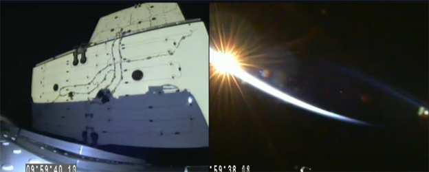 80177806 deploy - SpaceX launches cargo ship but rocket recovery test ends in crash