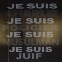 Poster in Place de la Republique