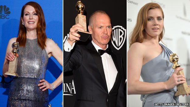 Julianne Moore, Michael Keaton and Amy Adams