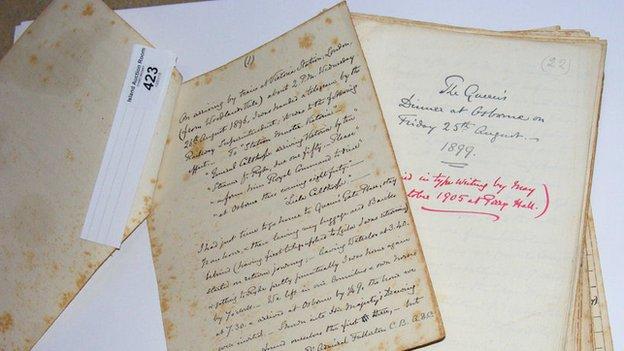 Hand-written journal