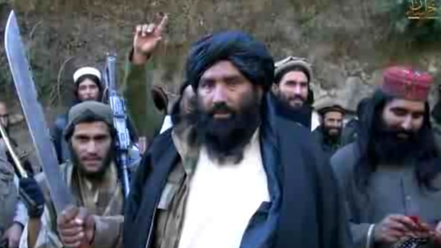 Former Taliban fighters pledge allegiance to IS in Pakistan. January 2015