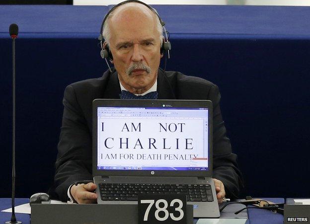 Right-wing Polish MEP Janusz Korwin-Mikke