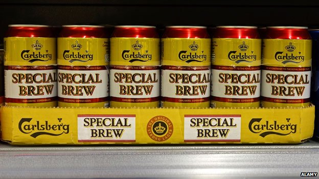 Tins of Special Brew