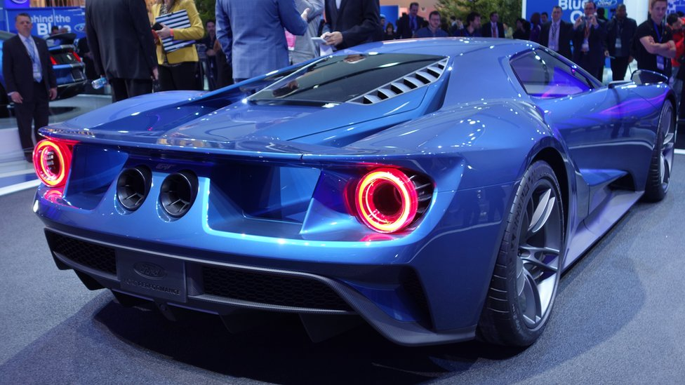 BBC News - Detroit Motor Show 2015: In pictures
