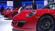 cars at Detroit Motor Show 2015