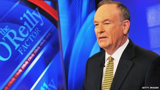 Fox News host Bill O'Reilly