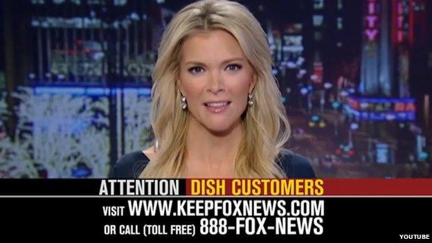 Fox News presenter Megyn Kelly